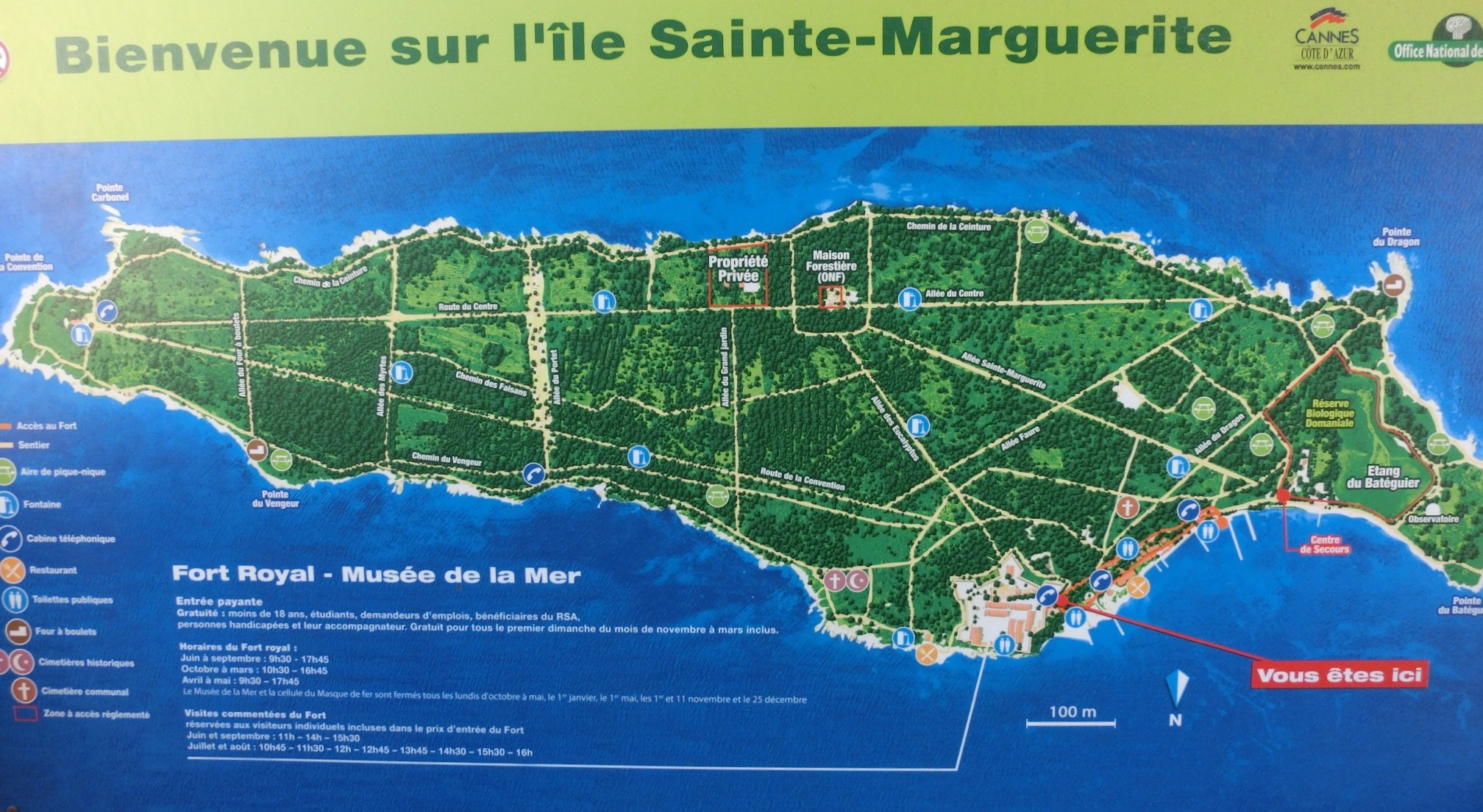 Six avril 2014 : L\'Île Sainte Marguerite | Roquebrune-sports