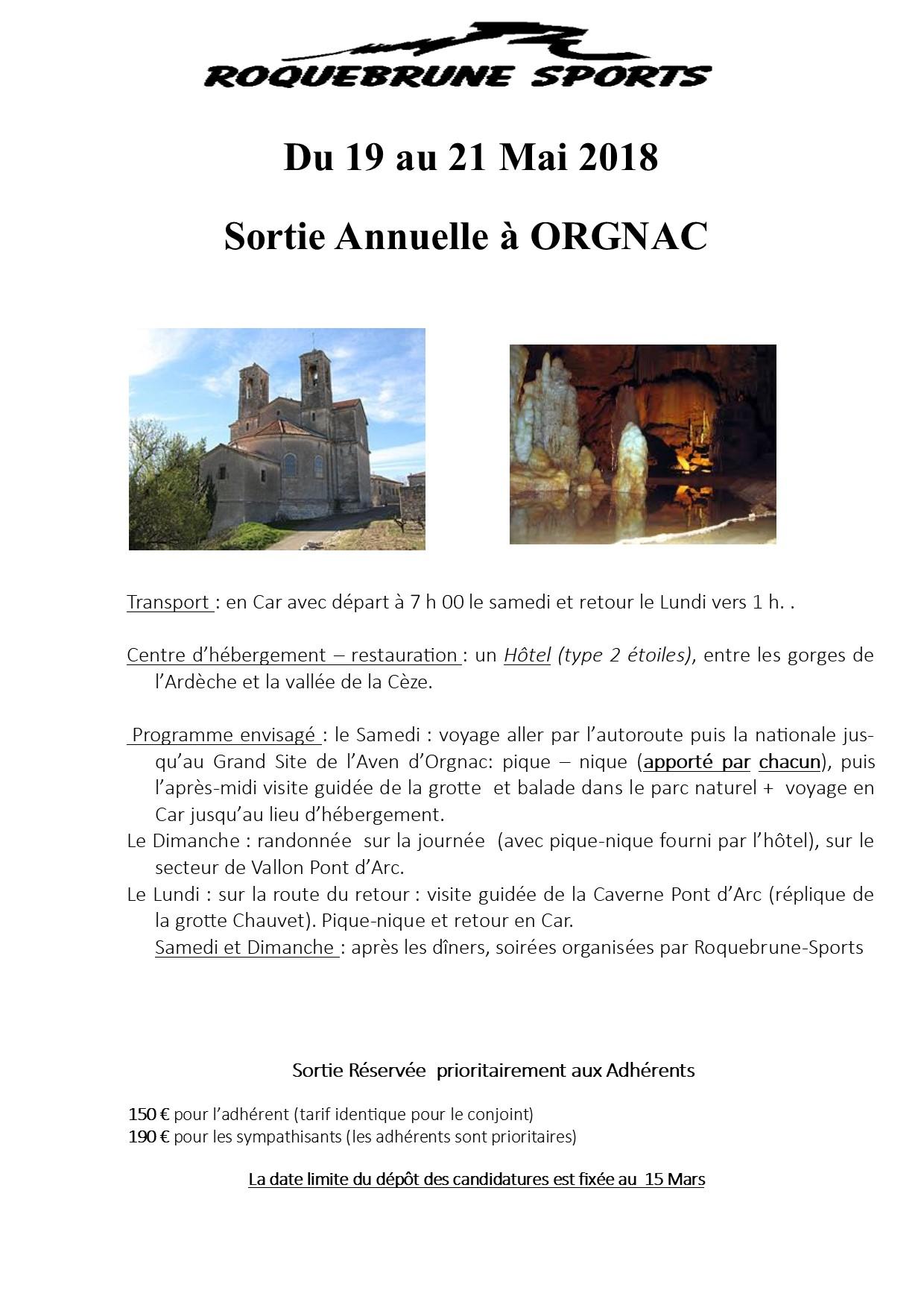 Orgnac affiche